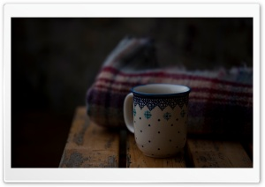 Mug, Blanket, Cold, Winter Ultra HD Wallpaper for 4K UHD Widescreen desktop, tablet & smartphone