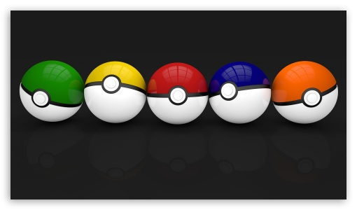 Multicolor Pokeballs ❤ 4K UHD Wallpaper for 4K UHD 16:9 Ultra High Definition 2160p 1440p 1080p 900p 720p ; Mobile 16:9 - 2160p 1440p 1080p 900p 720p ;