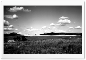 Murcia, Spain BW HD Wide Wallpaper for Widescreen