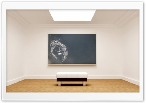Museum Room   Art Piece HD Wide Wallpaper for Widescreen