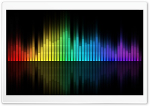 Music Equalizer HD Wide Wallpaper for Widescreen