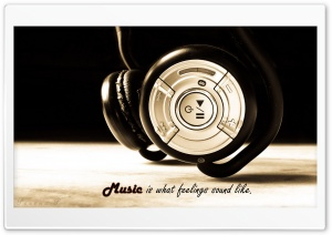 Music Headphones HD Wide Wallpaper for Widescreen