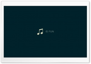 Music Is Fun HD Wide Wallpaper for Widescreen