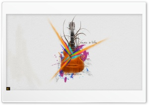 Music is Life Ultra HD Wallpaper for 4K UHD Widescreen desktop, tablet & smartphone