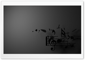 Music Notes and Guitar Pick HD Wide Wallpaper for Widescreen