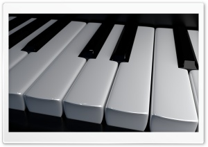 Music Piano Keyboard Ultra HD Wallpaper for 4K UHD Widescreen desktop, tablet & smartphone