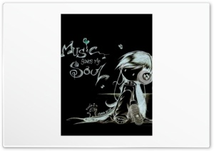 Music Save My Soul HD Wide Wallpaper for Widescreen