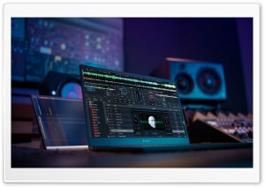 Music Studio HD Wide Wallpaper for 4K UHD Widescreen desktop & smartphone