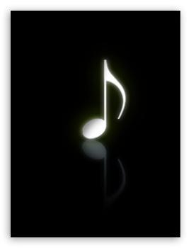 Musical Note Black 4k Hd Desktop Wallpaper For