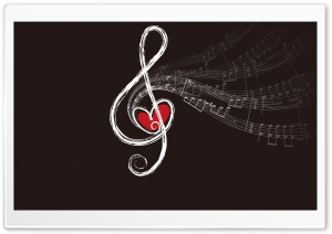 Musical Notes HD Wide Wallpaper for 4K UHD Widescreen desktop & smartphone