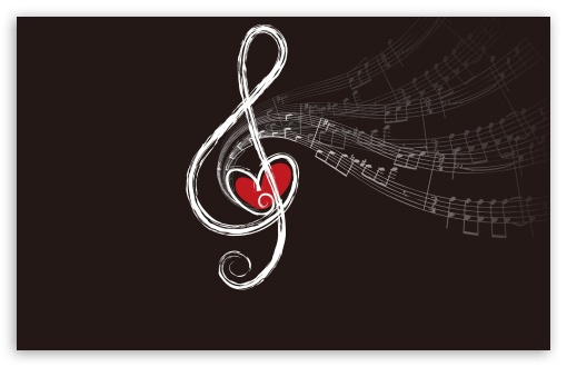Cute Music Note Wallpaper: Musical Notes 4K HD Desktop Wallpaper For 4K Ultra HD TV
