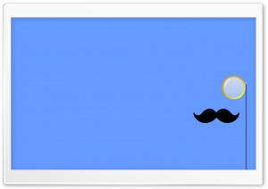 Mustache HD Wide Wallpaper for Widescreen