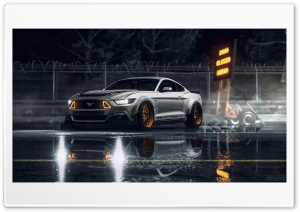 Mustang HD Wide Wallpaper for Widescreen