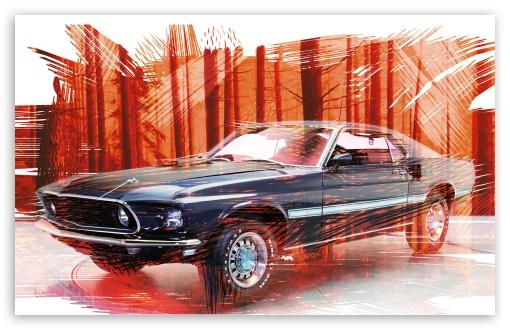 Mustang Car ❤ 4K UHD Wallpaper for Wide 16:10 Widescreen WHXGA WQXGA WUXGA WXGA ;