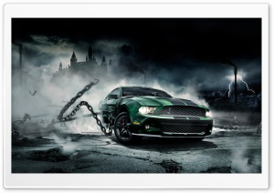 Mustang Monster HD Wide Wallpaper for Widescreen