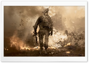 MW2 HD Wide Wallpaper for Widescreen