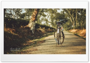 My Bicycle HD Wide Wallpaper for Widescreen