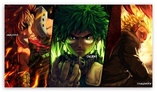 Download My Hero Academia UltraHD Wallpaper