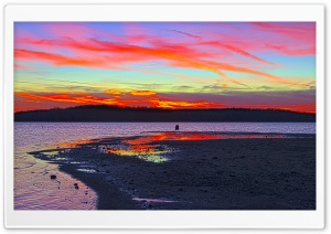 My Last Sunset Of 2011 HD Wide Wallpaper for Widescreen