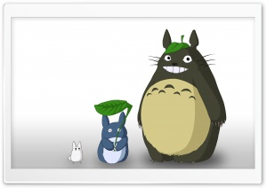 My Neighbour Totoro HD Wide Wallpaper for 4K UHD Widescreen desktop & smartphone