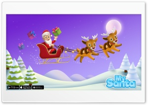My Santa Claus - Christmas Time HD Wide Wallpaper for Widescreen
