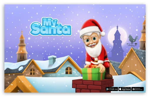 My Santa Claus - Down the Chimney ❤ 4K UHD Wallpaper for Wide 16:10 5:3 Widescreen WHXGA WQXGA WUXGA WXGA WGA ; 4K UHD 16:9 Ultra High Definition 2160p 1440p 1080p 900p 720p ; Standard 3:2 Fullscreen DVGA HVGA HQVGA ( Apple PowerBook G4 iPhone 4 3G 3GS iPod Touch ) ; Mobile 5:3 3:2 16:9 - WGA DVGA HVGA HQVGA ( Apple PowerBook G4 iPhone 4 3G 3GS iPod Touch ) 2160p 1440p 1080p 900p 720p ;