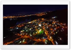 my town T NIGHT Ultra HD Wallpaper for 4K UHD Widescreen desktop, tablet & smartphone