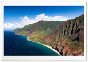 Na Pali Coast, Kauai, Hawaii Ultra HD Wallpaper for 4K UHD Widescreen desktop, tablet & smartphone