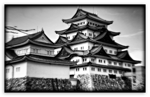 Nagoya Castle In Black And White HD wallpaper for Wide 16:10 5:3 Widescreen WHXGA WQXGA WUXGA WXGA WGA ; HD 16:9 High Definition WQHD QWXGA 1080p 900p 720p QHD nHD ; UHD 16:9 WQHD QWXGA 1080p 900p 720p QHD nHD ; Standard 4:3 5:4 3:2 Fullscreen UXGA XGA SVGA QSXGA SXGA DVGA HVGA HQVGA devices ( Apple PowerBook G4 iPhone 4 3G 3GS iPod Touch ) ; Tablet 1:1 ; iPad 1/2/Mini ; Mobile 4:3 5:3 3:2 16:9 5:4 - UXGA XGA SVGA WGA DVGA HVGA HQVGA devices ( Apple PowerBook G4 iPhone 4 3G 3GS iPod Touch ) WQHD QWXGA 1080p 900p 720p QHD nHD QSXGA SXGA ;