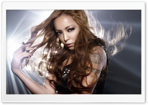 Namie Amuro Singer HD Wide Wallpaper for Widescreen