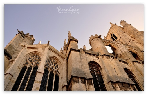 Narbonne Cathedral HD wallpaper for Wide 16:10 5:3 Widescreen WHXGA WQXGA WUXGA WXGA WGA ; HD 16:9 High Definition WQHD QWXGA 1080p 900p 720p QHD nHD ; Standard 4:3 3:2 Fullscreen UXGA XGA SVGA DVGA HVGA HQVGA devices ( Apple PowerBook G4 iPhone 4 3G 3GS iPod Touch ) ; iPad 1/2/Mini ; Mobile 4:3 5:3 3:2 16:9 - UXGA XGA SVGA WGA DVGA HVGA HQVGA devices ( Apple PowerBook G4 iPhone 4 3G 3GS iPod Touch ) WQHD QWXGA 1080p 900p 720p QHD nHD ;