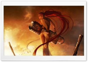 Nariko - Heavenly Sword HD Wide Wallpaper for Widescreen