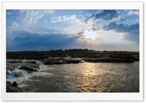 Narmada River Ultra HD Wallpaper for 4K UHD Widescreen desktop, tablet & smartphone