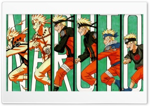 Naruto Evolution HD Wide Wallpaper for Widescreen