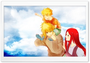 Naruto Family HD Wide Wallpaper for Widescreen