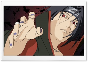 Naruto Uchiha HD Wide Wallpaper for Widescreen