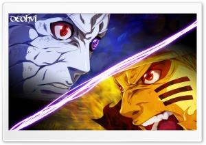 Naruto vs Obito Wallpaper -...