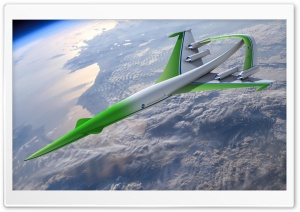 NASA Aircraft Prototype HD Wide Wallpaper for Widescreen