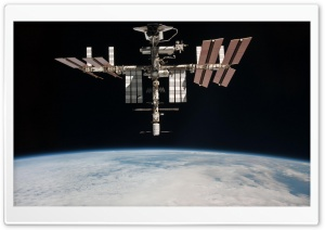 Nasa Satellite HD Wide Wallpaper for Widescreen