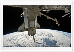 Nasa Space Station HD Wide Wallpaper for Widescreen