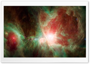 NASA Spitzer Space Telescope Image HD Wide Wallpaper for Widescreen