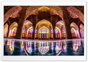Nasir al-Mulk Mosque HD Wide Wallpaper for 4K UHD Widescreen desktop & smartphone