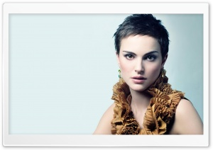 Natalie Portman Short Hair HD Wide Wallpaper for Widescreen