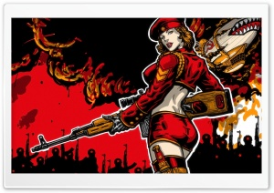 Natasha RA3 Soviet Sniper HD Wide Wallpaper for Widescreen