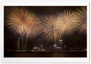 National Day Fireworks HD Wide Wallpaper for Widescreen
