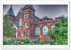 National Museum HDR HD Wide Wallpaper for Widescreen