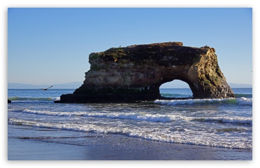 Natural Bridges State Beach Santa Cruz 4k Hd Desktop