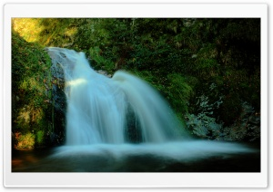 Natural Waterfall HD Wide Wallpaper for Widescreen