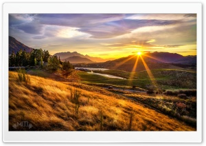 Nature Sunset Ultra HD Wallpaper for 4K UHD Widescreen desktop, tablet & smartphone