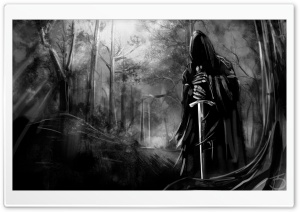 Nazgul Drawing HD Wide Wallpaper for Widescreen